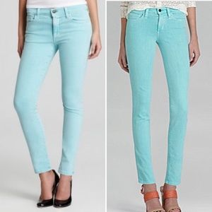 Joe's Jeans Slim Straight Jean in Mint Aqua